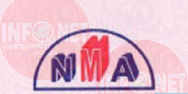 Lowongan Kerja Lampung 3 Posisi PT. NMA