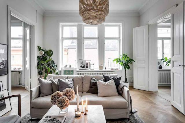 Scandinavian Style Apartment Decor Ideas