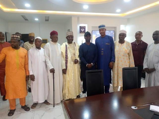Ojodu LCDA Chairman, David Odunmbaku Hosts The League Of Imams, Muslim Scholars, Who Visited Him During The EID-EL-MAULUD Celebrations.