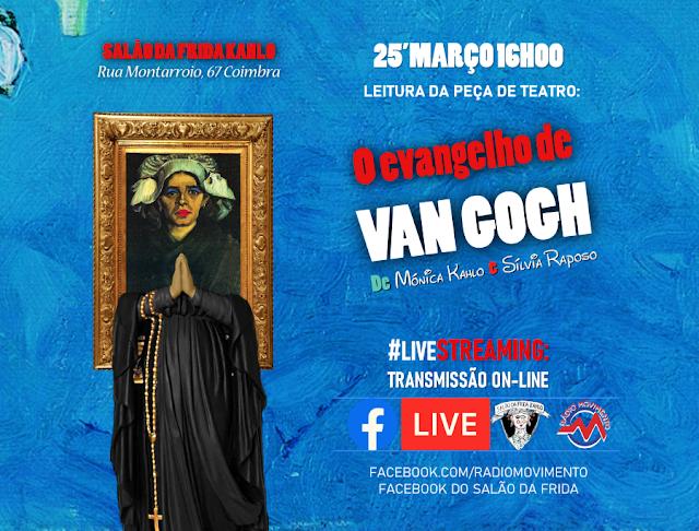 O EVANGELHO DE VAN GOGH EM LIVE-STREAMING!