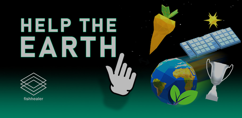 """Help the Earth""  My first indie game on google play"