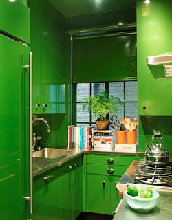 foto de cocina verde