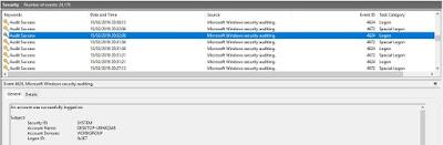Logon Windows 10 Log Security