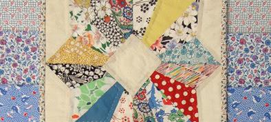 Robin Atkins, quilt for 2017 La Conner Quilt Museum challenge, detail