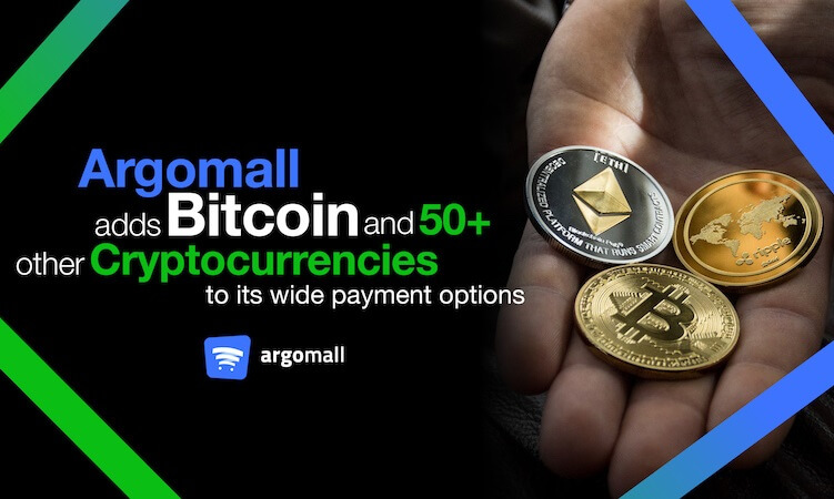 Argomall Now Accepting Bitcoin, Cryptocurrency Payments