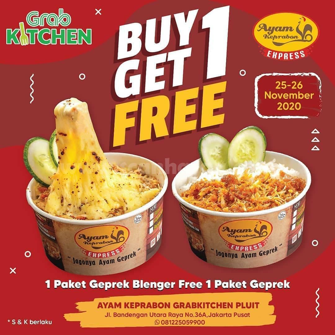 Ayam Keprabon Promo Buy 1 Get 1 Free Opening Grab kitchen Pluit
