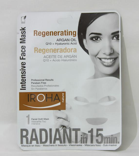 Mascara intensiva regeneradora Iroha nature