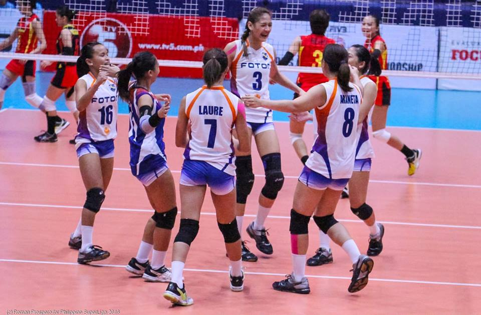 Foton Tornadoes ready to face Cargo Movers in the Finals match.