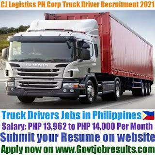 CJ Logistics PH Corp Truck Driver Recruitment 2021-22