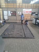 Fabrikasi pembuatan pagar laser cutting di workshop kami dengan team ahli yang mampu memberikan hasil sesuai pesanan Anda