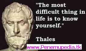ilmuwan Matematika Thales dari Eropa