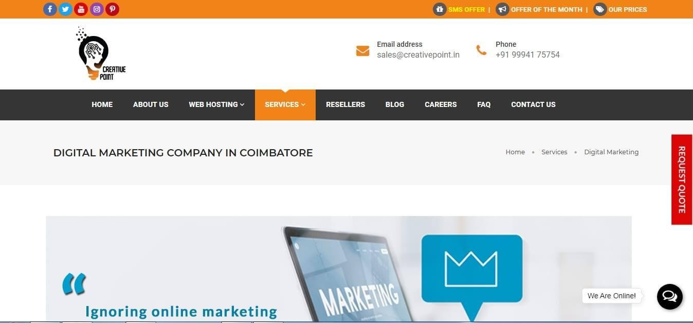 Creative Point - Digital Marketing Company
