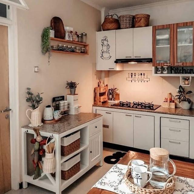 Furniture Interior Dapur Minimalis Sederhana