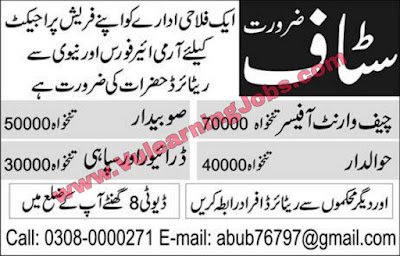 Private Organization Jobs 2019 For Officer, Driver Latest