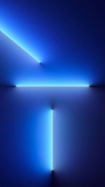 Download Wallpaper iphone 13 Sierra Blue