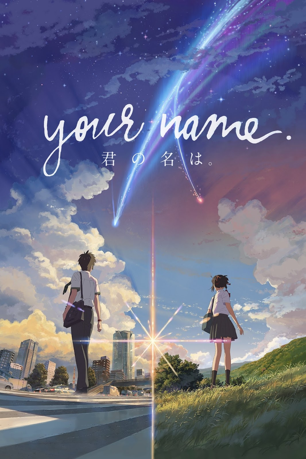 Animated Releases: The Threads of Fate: Your Name (2017) - Reviewed
