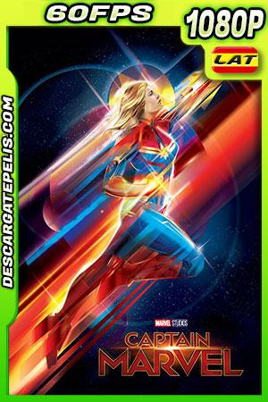 Capitana Marvel (2019) 1080P 60FPS Latino – Ingles