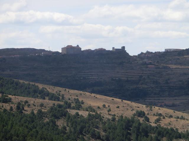 puertomingalvo visto desde la cima del puerto de las Ampolas