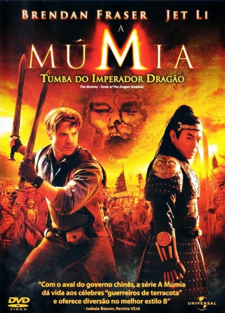 A Múmia – Tumba do Imperador Dragão Dublado