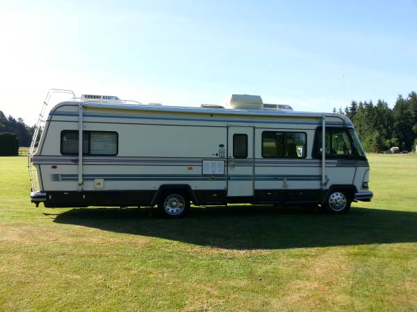 Used Rvs 1988 Presidential Holiday Rambler Motorhome For