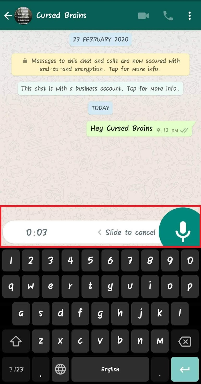 How To Know WhatsApp Message Read - Recording Voice Message - Cursed Brains