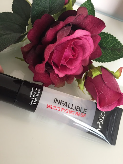 l'oreal infallible mattifying base review
