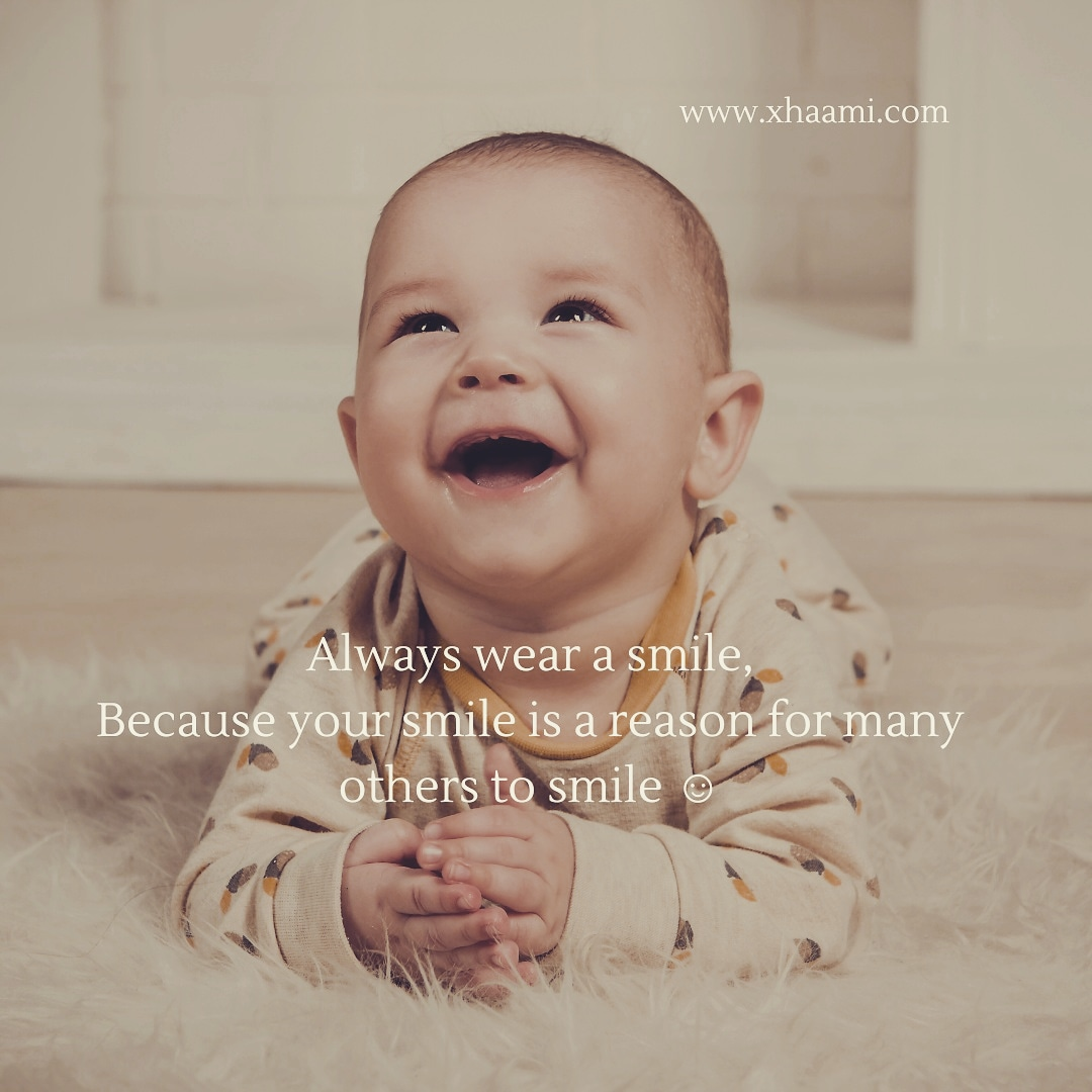 WhatsApp Status Quote - Always wear a Smile