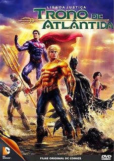 Liga da Justiça: Trono de Atlântida - BRRip Dual Áudio