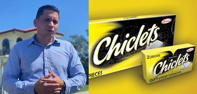 Eliecer Ávila solo estaba promocionando la marca Chiclets