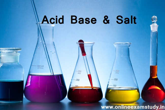अम्ल, क्षार और लवण  [Acid, Base and Salt]
