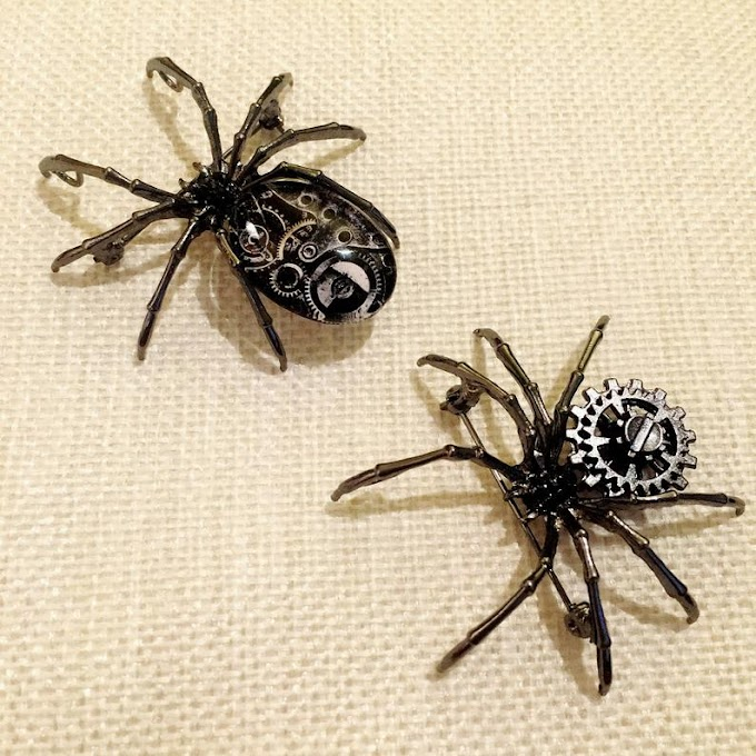 Steampunk Spiders Are Gorgeous