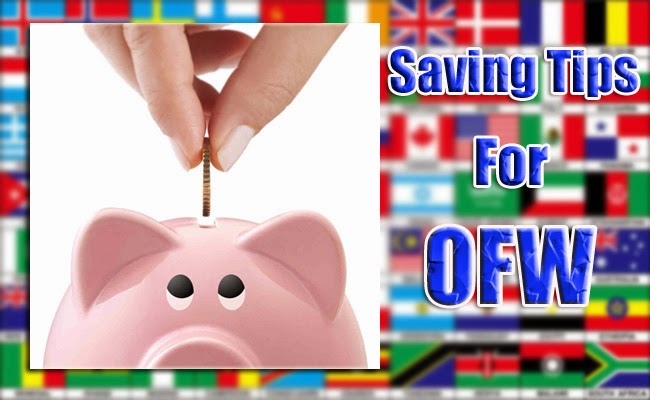 Saving Tips for OFW