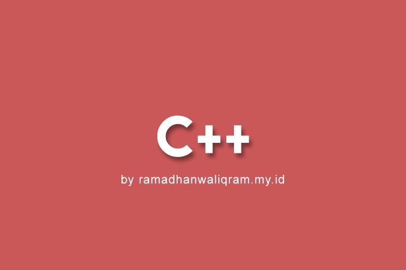 tutorial c++, program rata rata c++