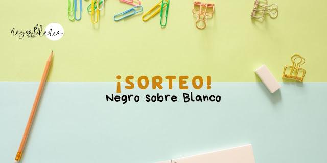 Blog: Negro sobre Blanco. Sorteo escritores. María Loreto Navarro