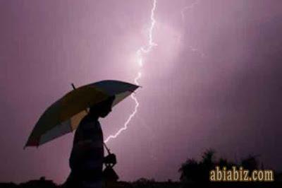 doa ketika mendengar petir dan guntur saat hujan