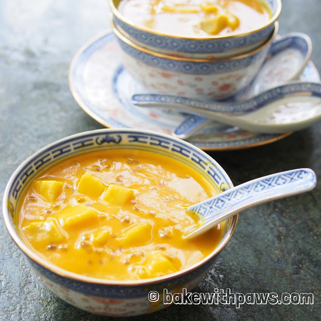 Pumpkin Sago Dessert