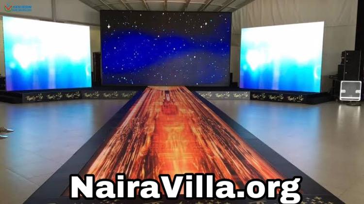 LED Floor Screen Technology, New World Floor Technology
