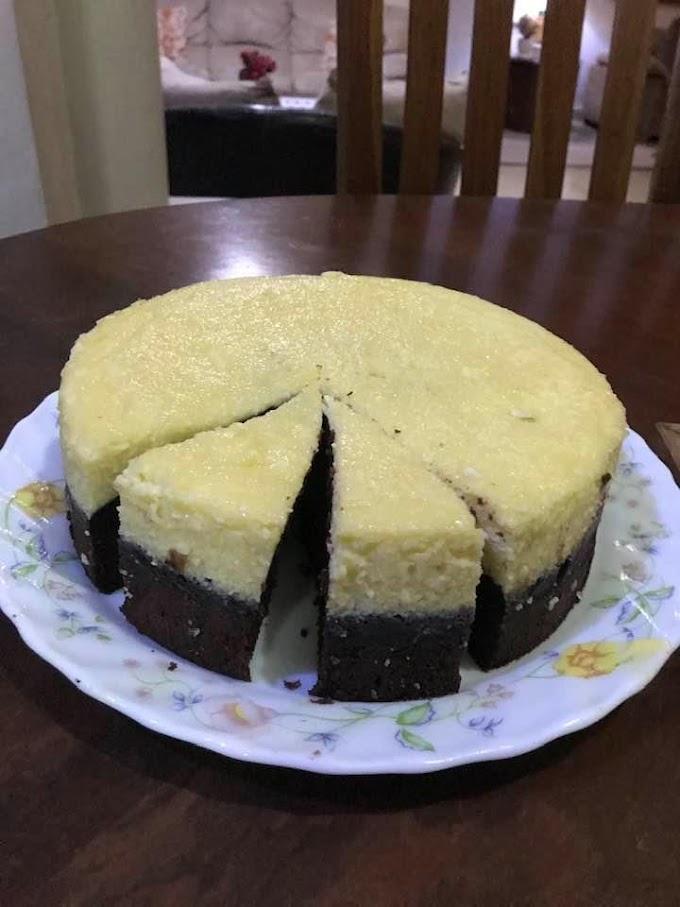Resep Brownies Cheesecake