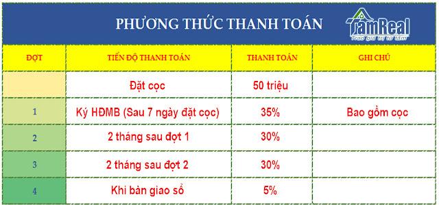 phuong-thuc-thanh-toan-nha-lien-ke-dat-nen-du-an-hoang-long