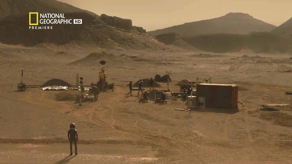 National Geographic MARS - episode 6, season 2 (drill site)