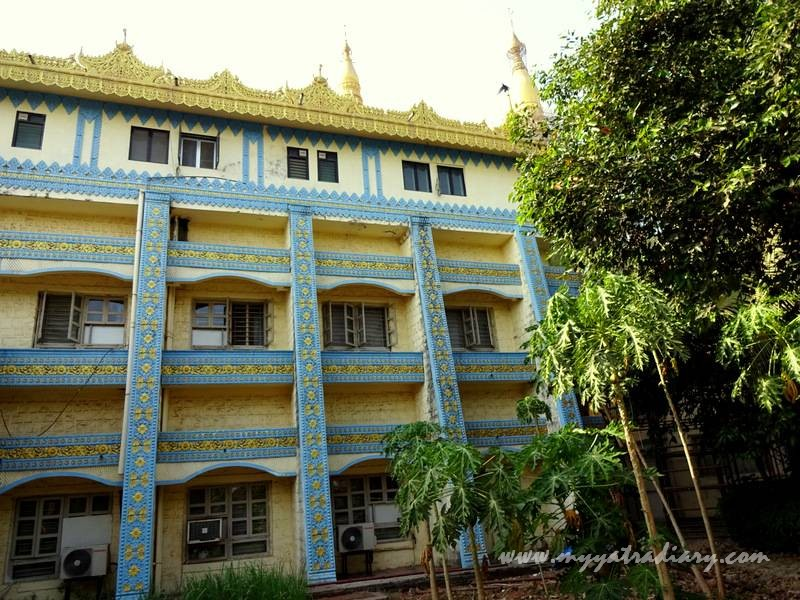 Residential quarters for students of the Global Vipassana Gorai Pagoda meditation course, Mumbai