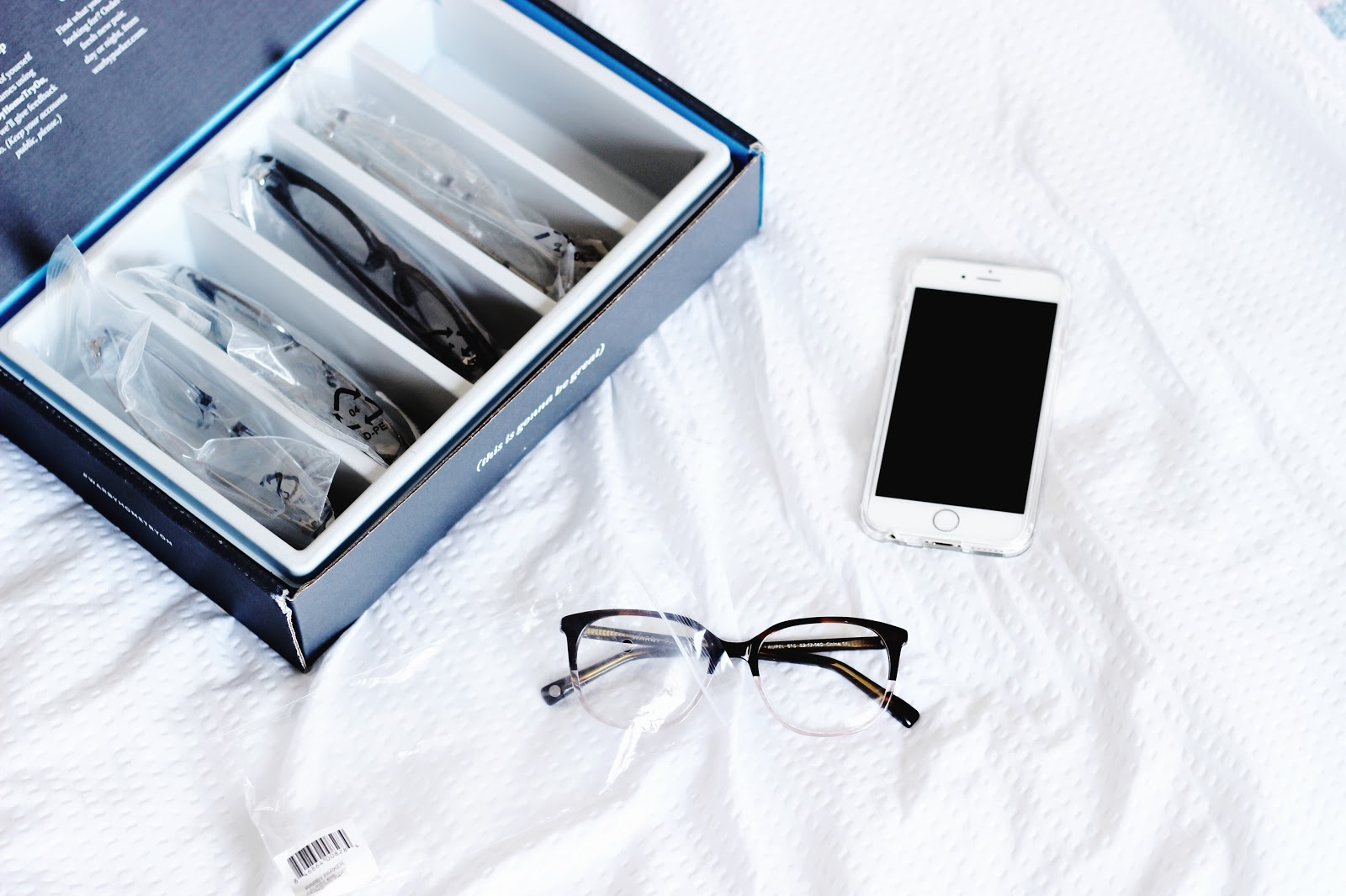 Warby Parker Home Try-On | Laura Neuzeth