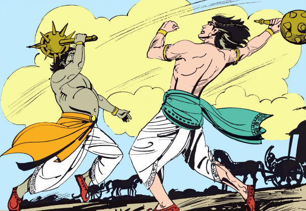 War between Asura Shamvara and Pradyumna