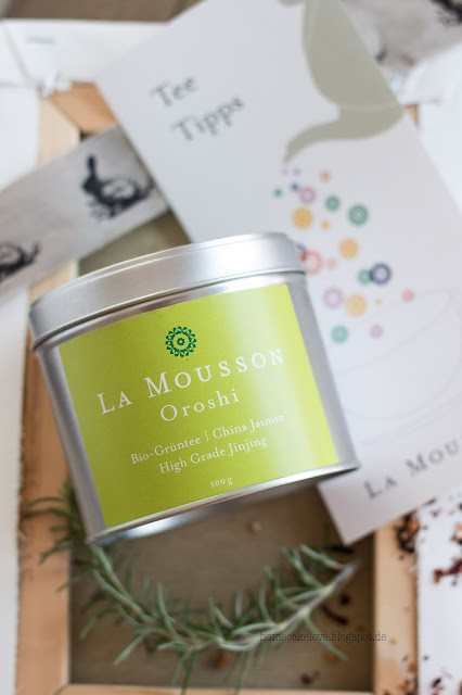 La Mousson,Biotee, saarländisches Unternehmen, Tee zum genießen und verschenken, Bio  Grüntee