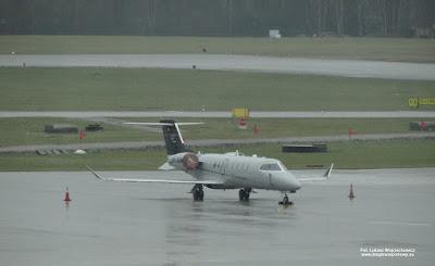 Bombardier Learjet 75, SP-AAW, Wiśniowski