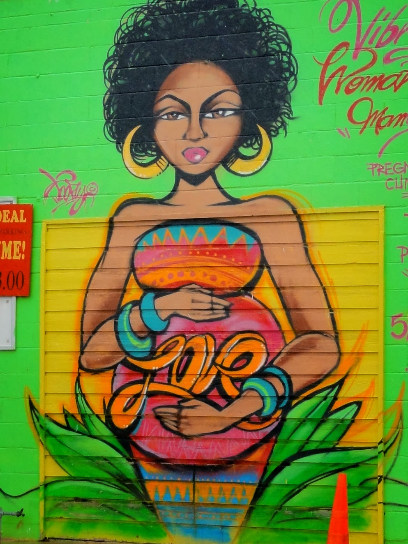 Austin mural Love: 1905 E 12th