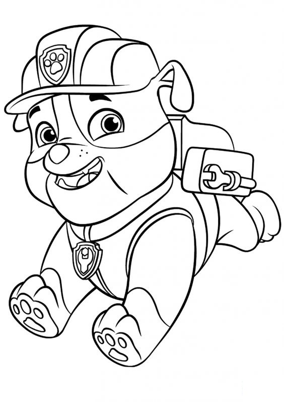 Dogs coloring pages 54