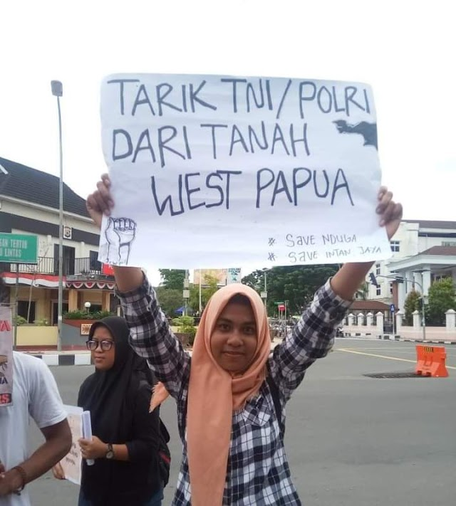 kesadaran sejarah dan rasa solidaritas bagi bangsa Papua