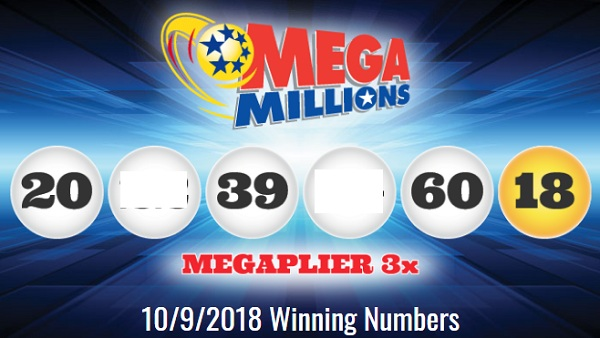 Mega Millions Winning Numbers October 9 2018