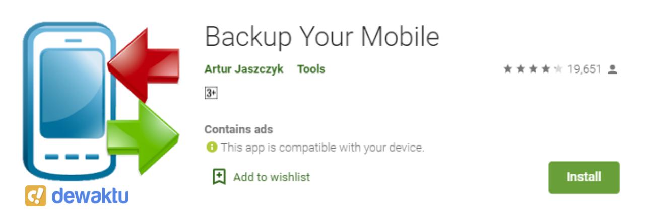 aplikasi backup data game android